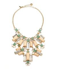 kate spade new york | Multicolor Centro Tiles Statement Necklace | Lyst