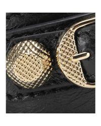 Balenciaga - Metallic Giant Leather Bracelet - Lyst