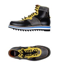DSquared² - Gray High-Tops & Trainers for Men - Lyst