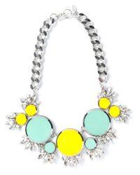 Anton Heunis | Metallic Embellished Crystal Necklace | Lyst
