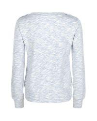 Armani Jeans   Gray Marl Cotton Sweater   Lyst