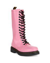 Dr. Martens | Pink Shower Wellington Boots | Lyst