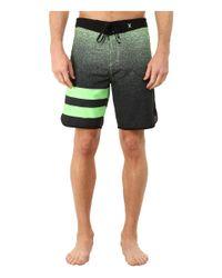 Hurley | Green Julian Phantom Drawstring Board Shorts for Men | Lyst