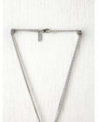 Free People - Metallic Rising Sun Pendant - Lyst