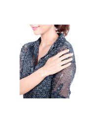 Gorjana | Metallic Taner Shimmer Bar Hand Chain | Lyst