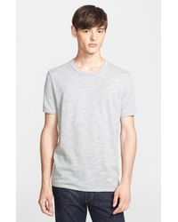 Rag & Bone | White Standard Issue 'moulinex' Crewneck T-shirt for Men | Lyst