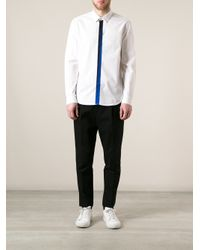 KENZO - White Collared Shirt for Men - Lyst