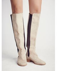 Free People | Natural Fp Collection Womens Callow Tall Boot | Lyst