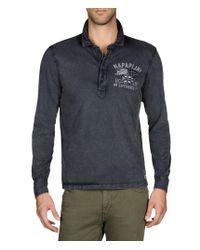 Napapijri | Gray Polo Shirt for Men | Lyst