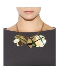 Marni | Multicolor Embellished Leather Necklace | Lyst