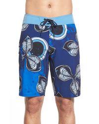 Volcom | Blue 'tremours' Board Shorts for Men | Lyst