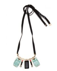 Marni - Green Resin Necklace In Emerald - Lyst