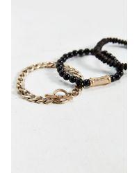 Urban Outfitters | Multicolor Bronze Beaded Bracelet Set for Men | Lyst