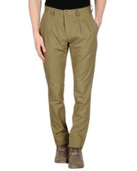 Tonello | Natural Casual Trouser for Men | Lyst