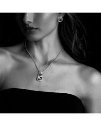 David Yurman - Albion Earrings with Hampton Blue Topaz and Diamonds - Lyst