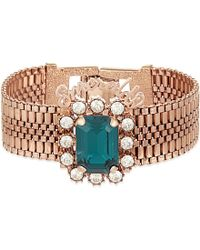 Mawi | Blue Emeralds Crystal Bracelet - For Women | Lyst