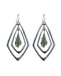 Alexis Bittar - Metallic Orbit Teardrop Pyrite Earring - Lyst