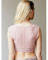 Free People | Pink Pique Wrap | Lyst