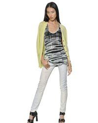 Proenza Schouler | Green Extra Fine Merino Wool Knit Cardigan | Lyst