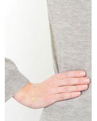 Daisy Knights | Metallic 22 Karat Gold Star And Anchor Bracelet | Lyst
