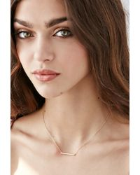 Forever 21 - Metallic Shashi Kylie Necklace - Lyst
