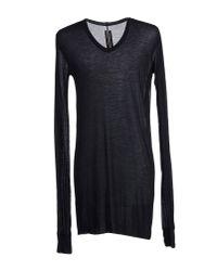 Rick Owens - Black T-shirt for Men - Lyst