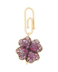 Aurelie Bidermann | Purple Four-leaf Clover Charm | Lyst