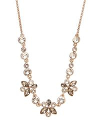 Givenchy - Metallic Rose Gold-Tone Accent Necklace - Lyst