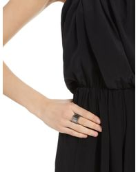 Annelise Michelson | Gray Gunmetal Double Carnivore Ring | Lyst