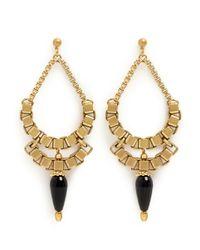 Ela Stone - Metallic Michelle Chain Drop Earrings - Lyst
