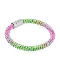 Carolina Bucci | Metallic Neon Twister Bracelet Silver | Lyst