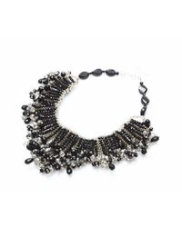Nakamol | Crystal Nova Necklace-black | Lyst