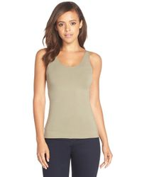 Spanx | Green 'in & Out' Tank | Lyst