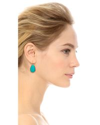 kate spade new york - Day Tripper Earrings Tropic Blue - Lyst
