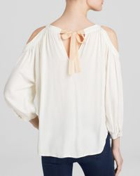 Ella Moss - Natural Top - Stella Cold Shoulder - Lyst