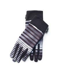 Ralph Lauren - Black Lined Touch Screen Gloves - Lyst