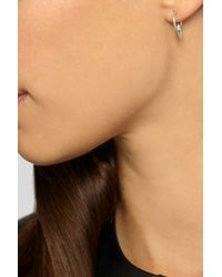 Wendy Nichol - Metallic Sterling Silver Hoop Earrings - Lyst