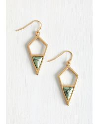 Ana Accessories Inc | Metallic That's A Good Point Earrings | Lyst