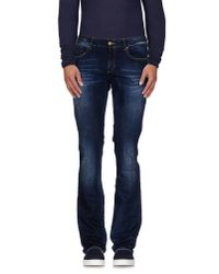 Gianfranco Ferré - Blue Denim Trousers for Men - Lyst