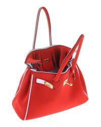 Leghilà - Red Handbag - Lyst