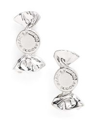 Marc By Marc Jacobs - Metallic 'lost & Found' Candy Stud Earrings - Argento - Lyst