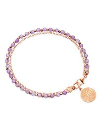 Astley Clarke | Purple Amethyst Friendship Bracelet With Labyrinth | Lyst