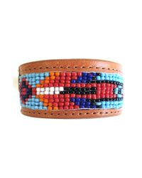 Will Leather Goods | Beaded Cuff Bracelet - Natural for Men | Lyst