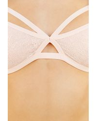 Silence + Noise - Pink Alexis Strappy Soft Bra - Lyst