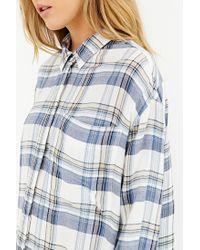 BDG | Natural Logan Button-down Shirt | Lyst