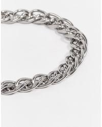 Seven London - Metallic Even London Chain Bracelet In Silver for Men - Lyst