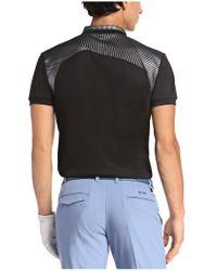 BOSS Green | Black 'paddy Pro' | Modern Fit, Moisture Manager-uv Polo Shirt for Men | Lyst