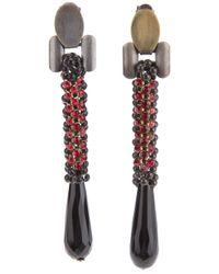 Laura B | Red 'Vieen' Earrings | Lyst