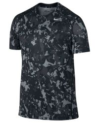 Nike | Gray Men's Pro Cool Dri-fit Fitted Splinter Camo T-shirt for Men | Lyst
