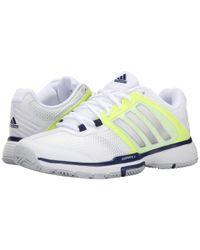 Adidas | White Barricade Team 4 | Lyst